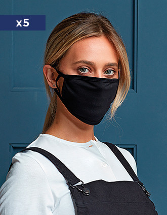 Antimicrobial and reusable protective mask - AFNOR UNS1
