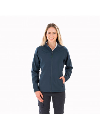Ladies' recycled softshell jacket