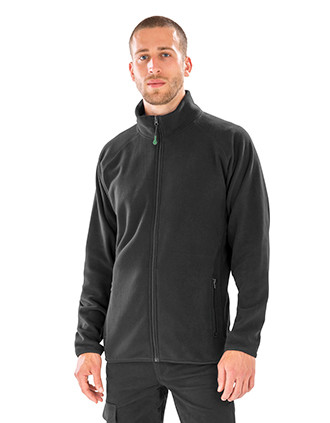 Polarthermic jacket made of recycled fleece