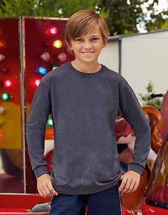Kids Valueweight T Long-Sleeved T-shirt (61-007-0)