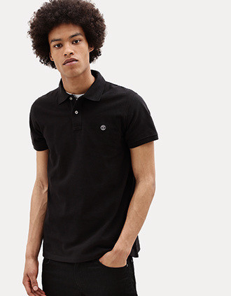 Millers River short-sleeved organic cotton piqué polo shirt