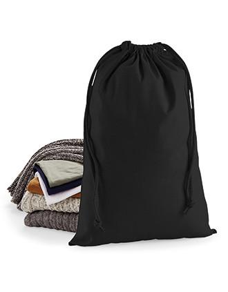 Drawstring carry handle bag in premium cotton