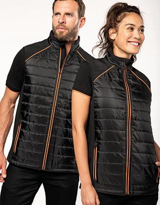 Dual-fabric DayToDay bodywarmer