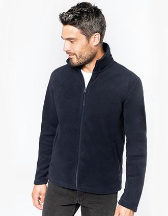 Full zip microfleece jacket