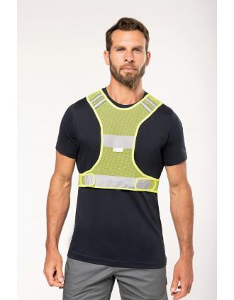 Reflective mesh sports vest