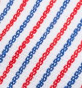K840 - Striped Blue White Red